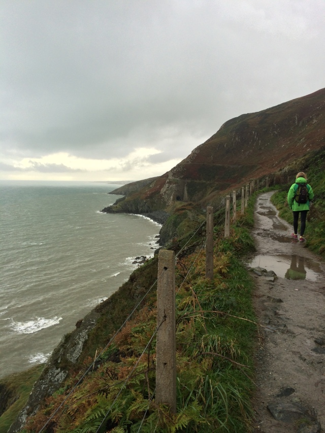 Dramatic cliffs, crashing waves and lots of puddles to jump in!