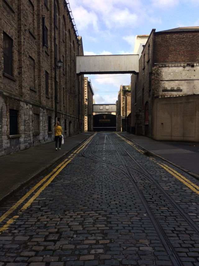 The Road to St James' Gate and the Home of Guinness