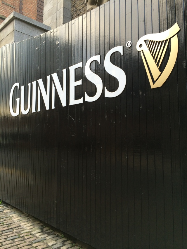 The Guinness name and harp