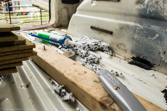 Tools-used-for-insulating-our-VW-T4-Transporter-van